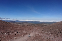 Road to the Chimborazo