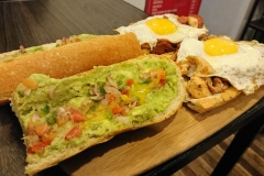 Submarino Cafe's Sandwich