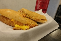 Submarino Cafe's Sandwich